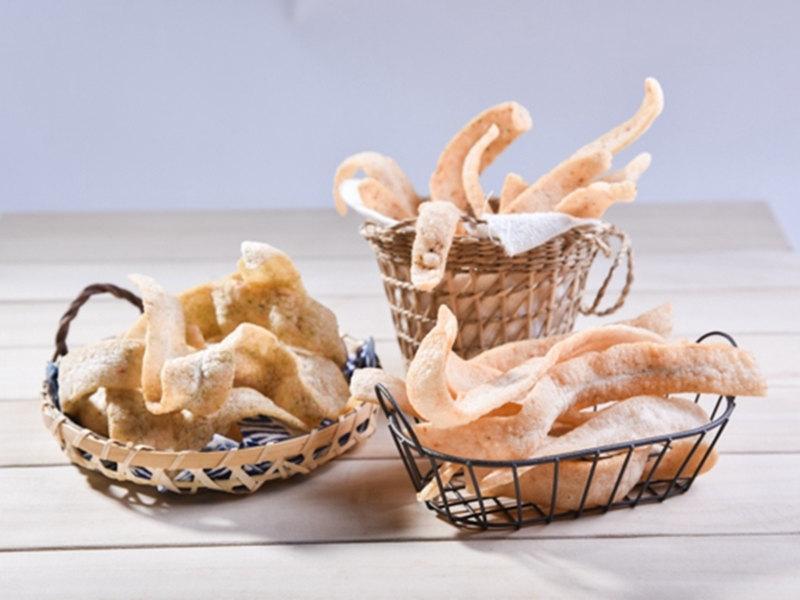 台南安平蝦餅‧億載鮮蝦餅